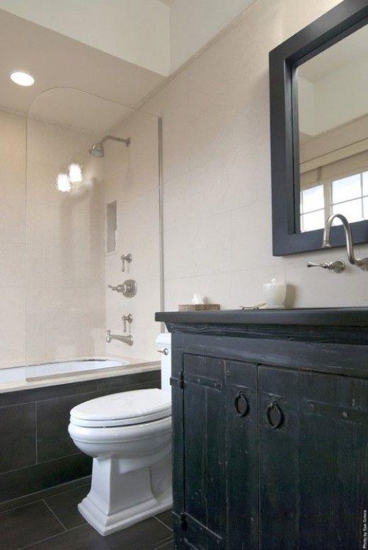 Best Weathered And Rustic Bathroom Vanities Images On Pinterest - Splash guard for bathroom sink for bathroom decor ideas