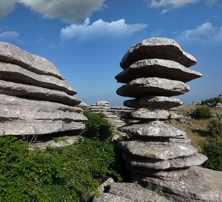 El Torcal de Antequera is a nature reserve in Antequera, Spain; known for its unusual limestone formations and magnificent geology.
