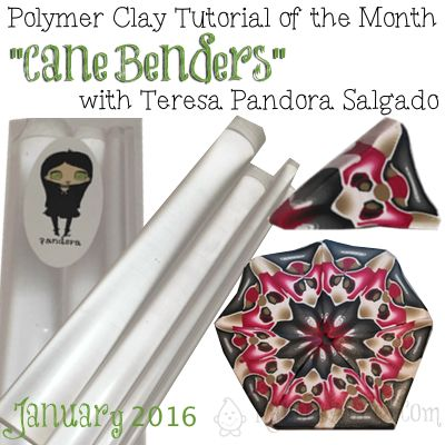 Polymer Clay Tutorial of the Month: CaneBenders