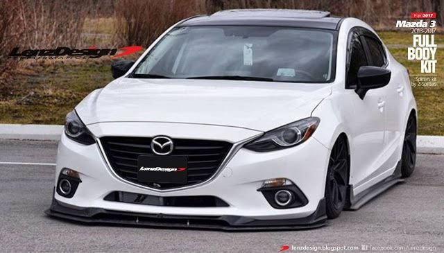 Mazda 3 Bm Lenzdesign Bodykit 2013 2019 Mazda 3 Sedan Mazda