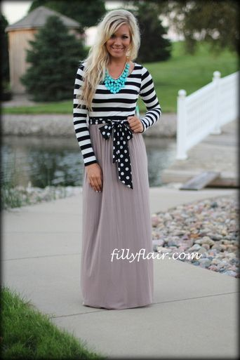 She's Got it All Maxi in TAUPE - Filly Flair. I NEED THIS DRESS!!!