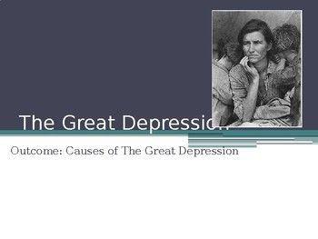 arguements over the causes of the great The causes of the great depression in the early 20th century have been extensively discussed by economists and remain a matter of active debate.