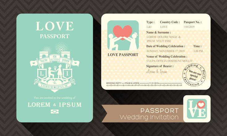結婚式に欠かすことのできないゲストへの招待状。オリジナリティーを出して招待状からゲスト楽しませてはいかがでしょうか?今回は、「パスポート風招待状」をご紹介していきたいと思います。