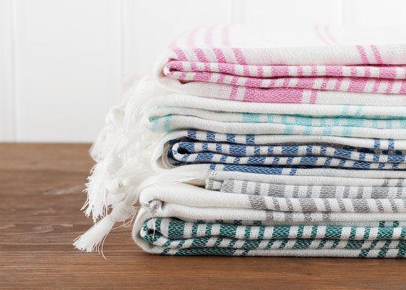 Cotton Turkish Towel Bath Towel Sauna Towel Beach von LongestThread