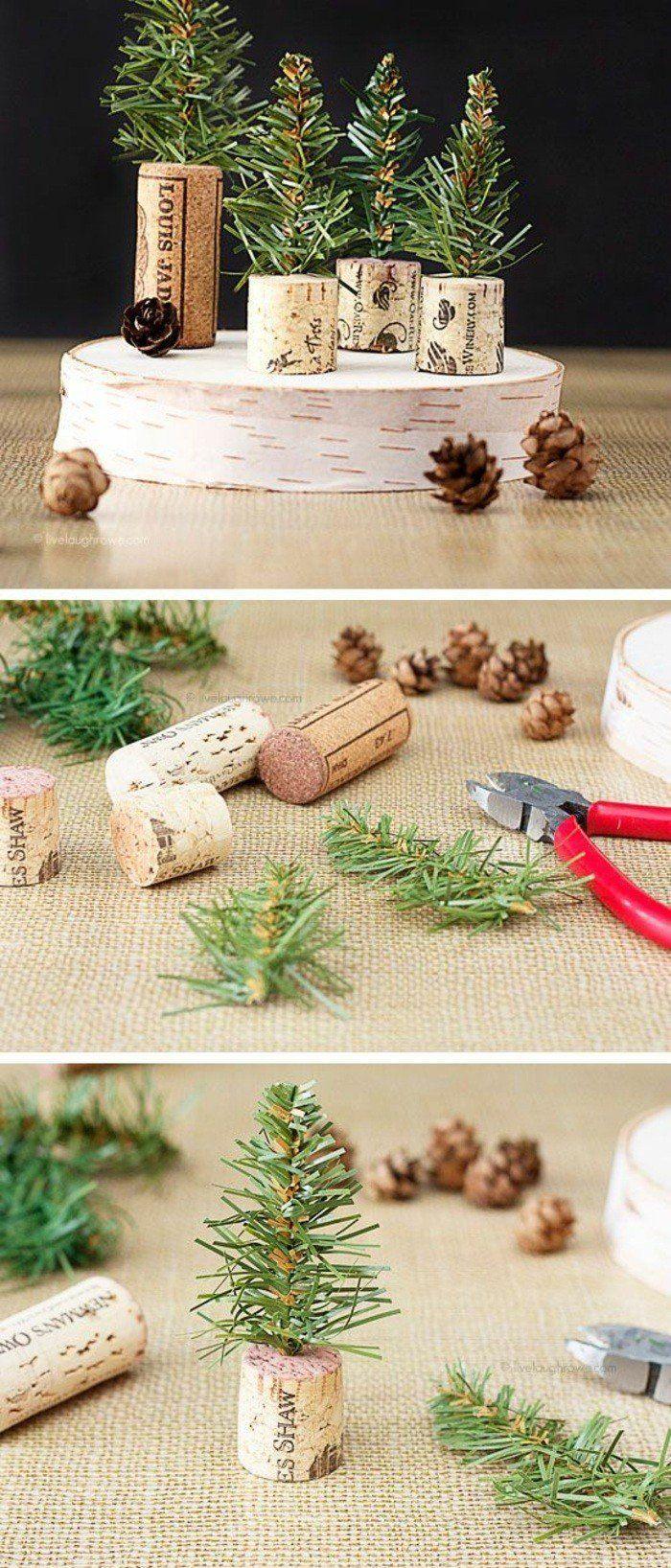 weihnachtendekoration selber machen weihnachtsdeko selber machen kleine wehnachtsbaume