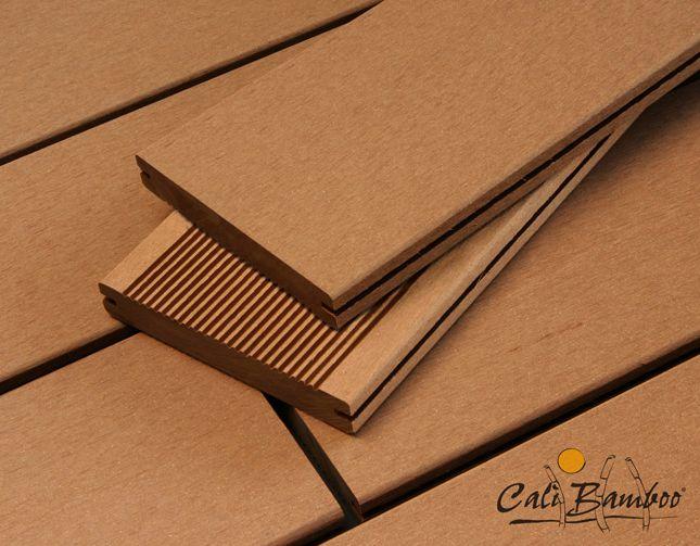 Bamdeck Composite Bamboo Deck - caramel