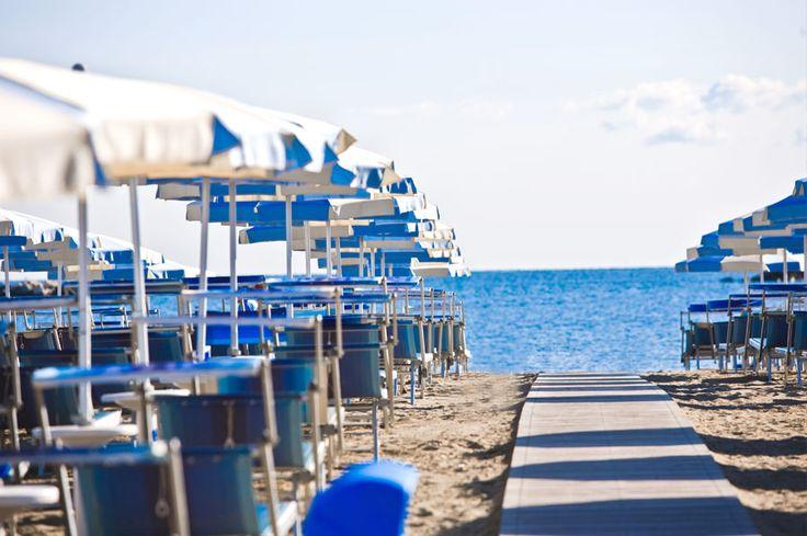 Cesenatico beach, Italy
