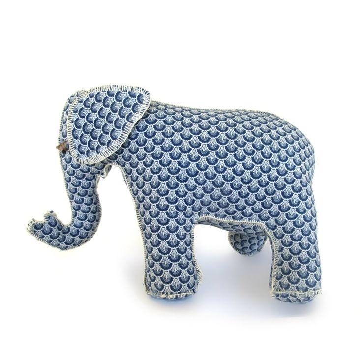 Elephant Friend – Blue Fan   Project Elephant