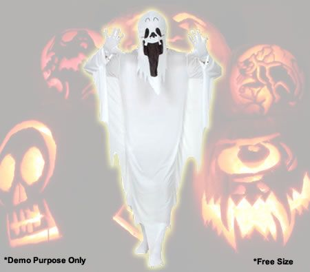 Scare them with this unique costume this halloween.