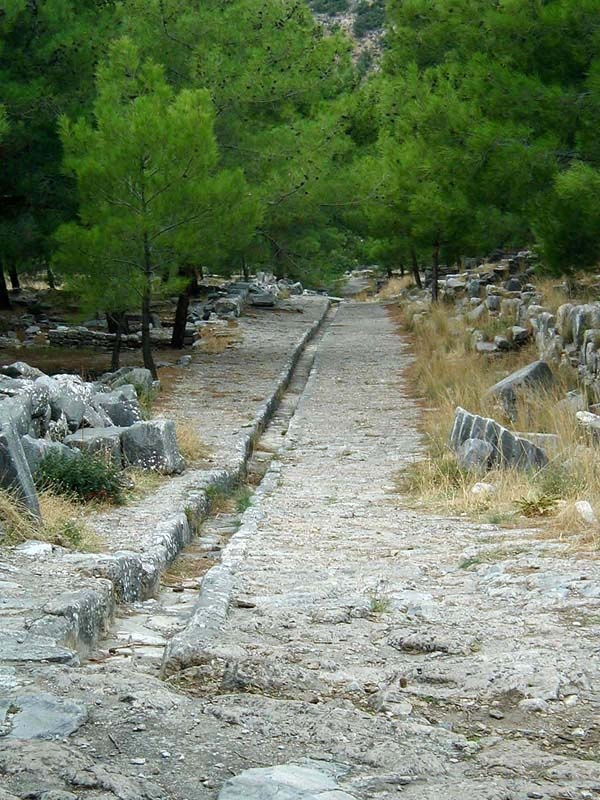 Ruins in Priene, Turkey