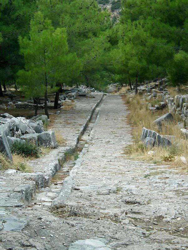 Ruins in Priene, Turkey