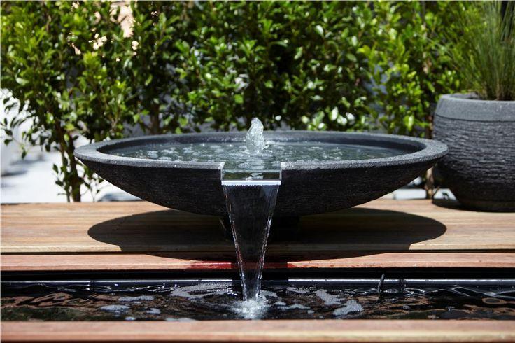 1.2m Shallow Bowl garden water feature