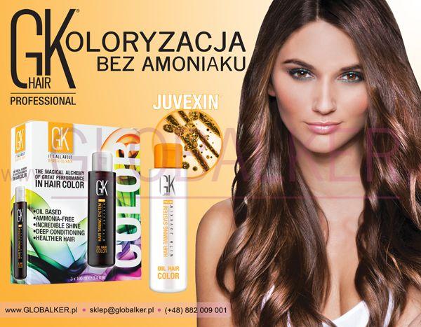 GK hair Koloryzacja Olejkowa Global Keratin Juvexin Warszawa Sklep #no.1 #globalker http://globalker.pl/farby/31-GK-HAIR-FARBA-OLEJKOWA-BEZ-AMONIAKU-OIL-COLOR-100ml-GLOBAL-KERATIN.html