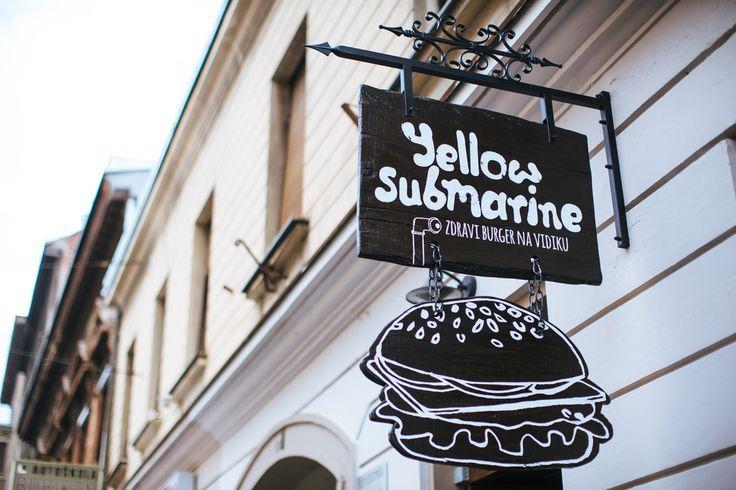 Restaurant Branding: Yellow Submarine Burger Place by Ivan Dilberovic