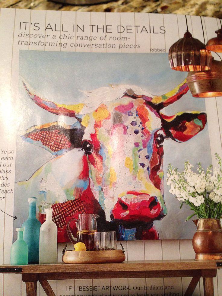 grandin road catalog bessie artwork - Grandin Road Catalog