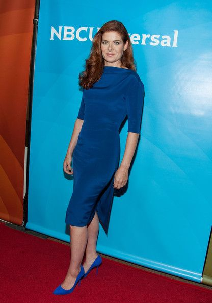 Debra Messing Photos: NBCUniversal's 2014 Summer TCA Tour: Day 1
