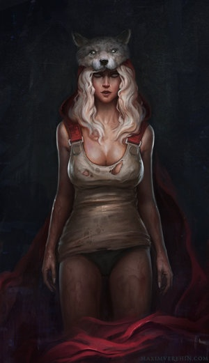 Red Riding Hood by;Verehin