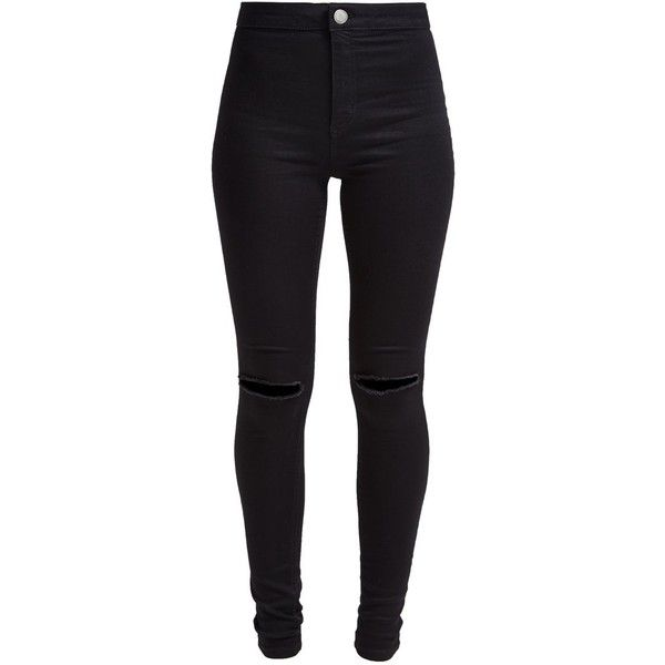 New Look DISCO Slim fit jeans ($36) ❤ liked on Polyvore featuring jeans, pants, bottoms, calças, black, skinny leg jeans, patterned skinny jeans, super skinny jeans, tall skinny jeans и black jeans