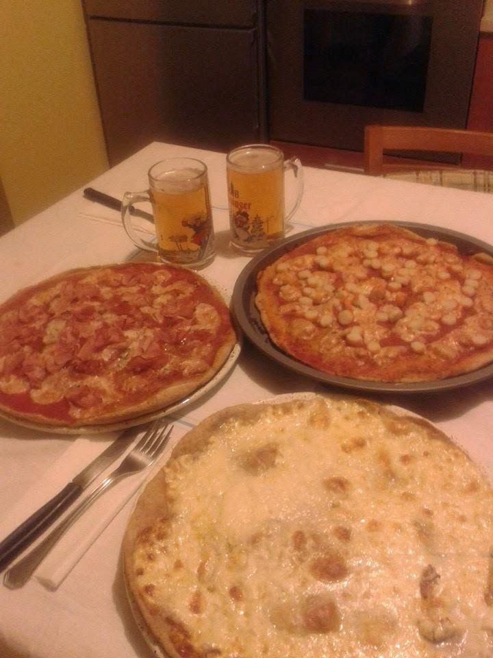 ⇒ Bimby, le nostre Ricette - Bimby, Pizza allo Stracchino, Pizza al Prosciutto e Pizza al Surimi