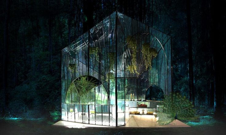 Ethereal Glass Pavilion Redefines The Modern Greenhouse