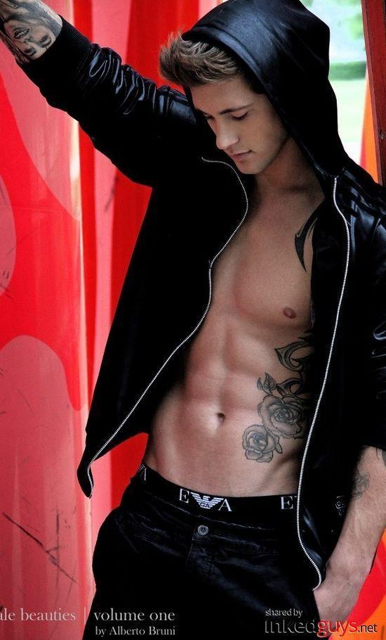 Wes Michals, Ruin by Rachel Van Dyken Inkedguys.net - Guys With Tattoos. Hot Pictures, Sexy Men, Beautiful Tattoos.