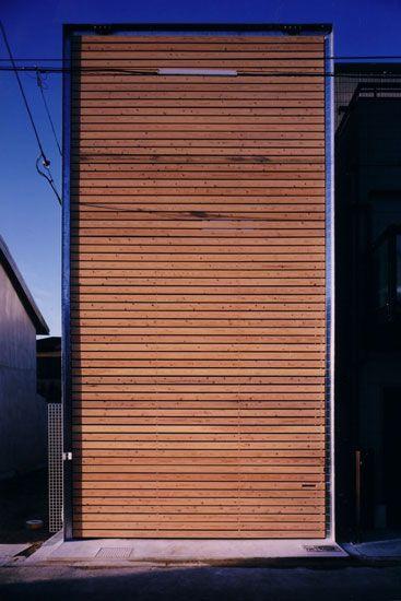 Suga Atelier - ZN House (architect's own residence), Osaka 1999.