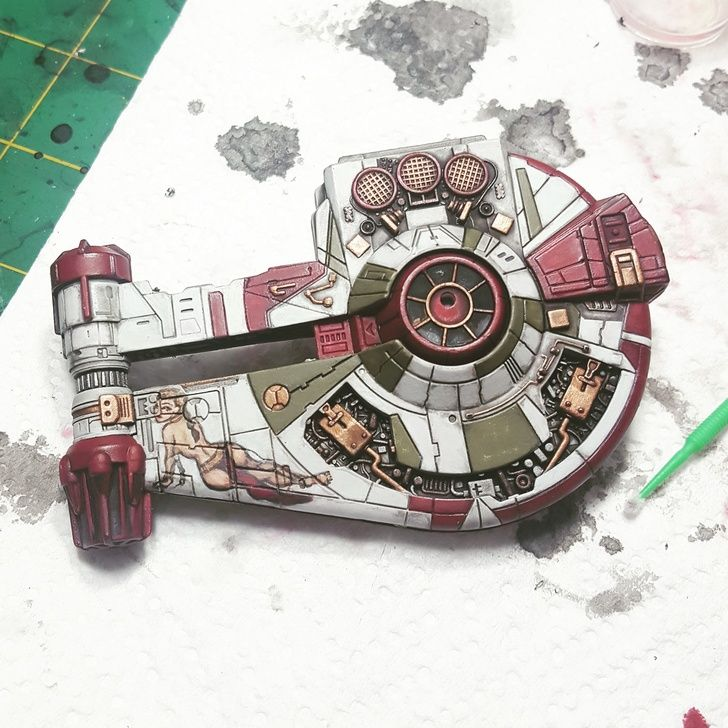 LightCraft Miniatures repaint collection! (1/270th scale for X-Wing TMG) - Album on Imgur