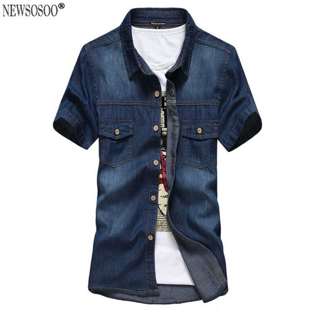 Check it on our site Mr.BaoLong newest style comboy shirt Brand youth fashion New Summer short sleeve cotton mens shirts casual male clothing DJ6 just only $12.59 with free shipping worldwide  #shirtsformen Plese click on picture to see our special price for you