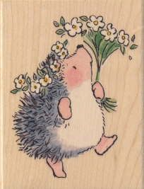 Penny Black hedge hog stamps. I have a problem - unable to stop collecting them!