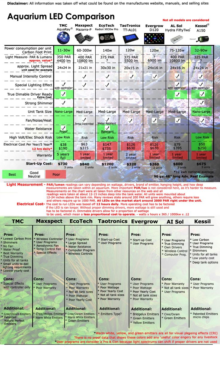 Bl system how many fish in a 55 aquaponics tank info - A Comparison Between Different Led Models For Your Fishtank Project Not All Models Out There Are Considered But Here Are A Few