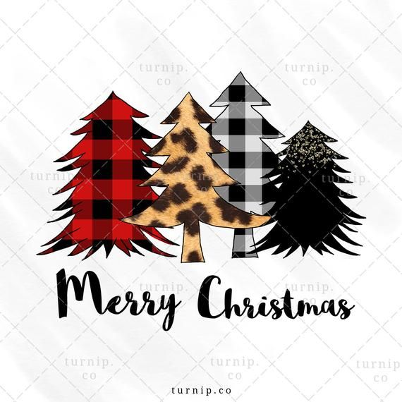 Christmas Tree Png Sublimation Design Clipart Graphic Wild Etsy Christmas Tree Tumblr Clip Art Christmas Tree Quotes