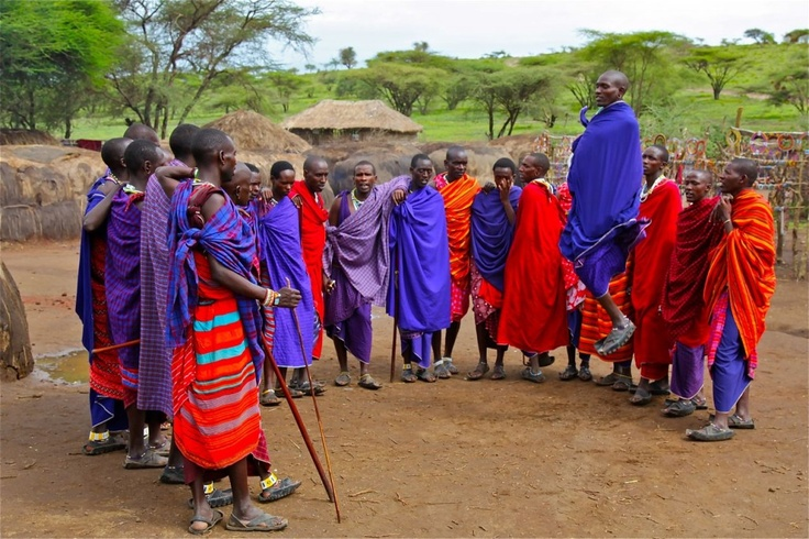 Africa. In Tanzania's Ngorongoro Conservation Area, a Masai village recalled the basics of shelter and an agrarian, mercantile way of life. Here, villagers welcome visitors with a jumping contest, surrounded by huts, color and a feeling that tradition can last forever.