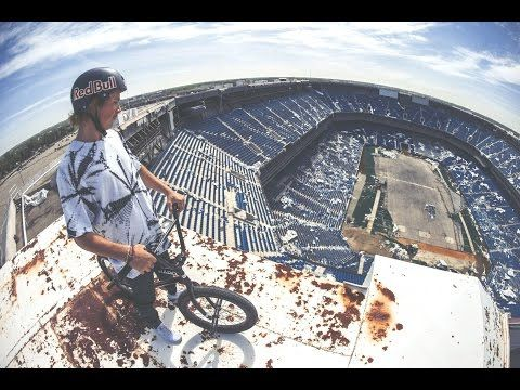 Tyler Fernengel BMX Session: Silverdome - YouTube