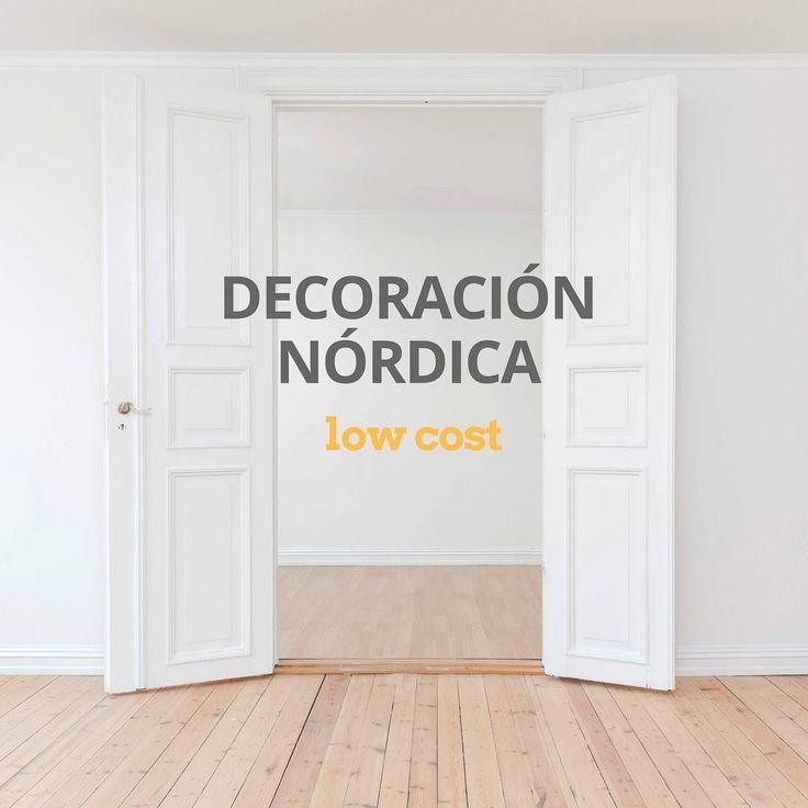 Ideas de decoraci n n rdica low cost decoracion for Arredamento nordico low cost