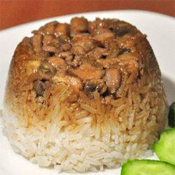 Resep Nasi Tim Ayam Pedas | Resep Masakan
