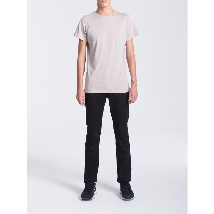 Crew Neck Silver Cloud T-shirt - Men