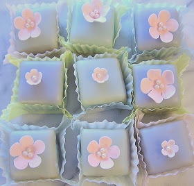 tams' little corner of the world: Looking Forward to Spring - Petit Fours