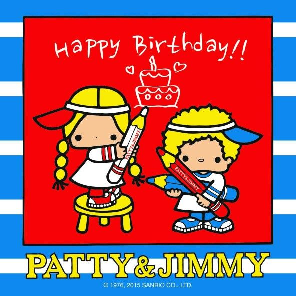 1000+ Images About Patty & Jimmy By Sanrio On Pinterest