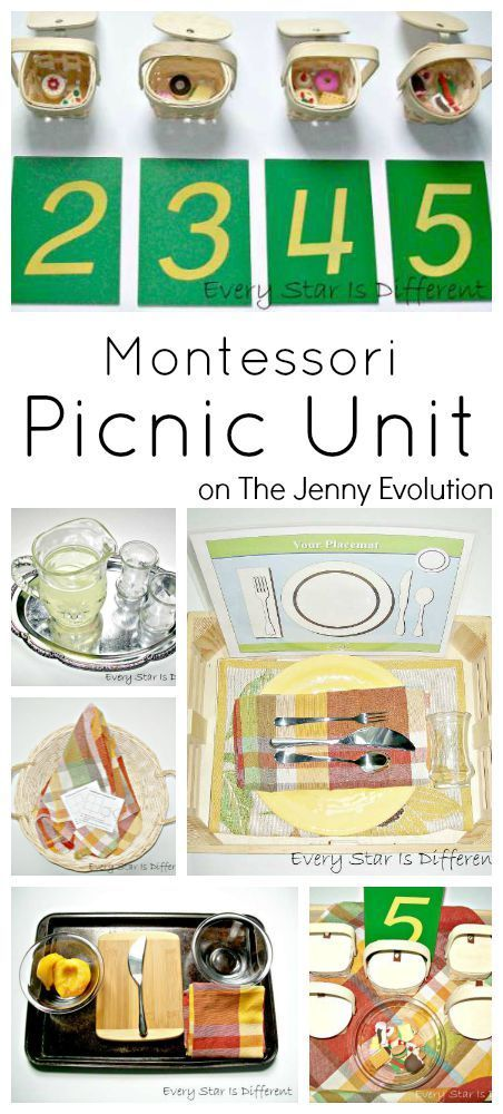 Montessori Picnic Activities Unit - Perfect for Sensory / Autistic Kids who aren't comfortable with outdoor picnics