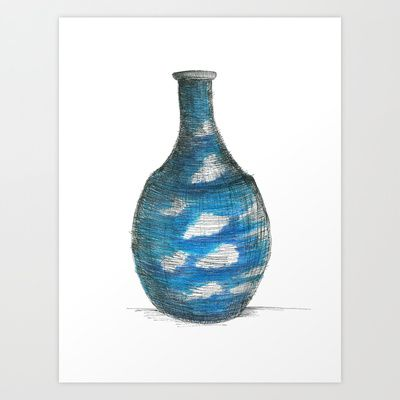 clouds+Art+Print+by+Daggy+Jess+-+$15.00