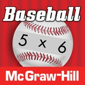 Everyday Mathematics Baseball Multiplication 1-6 Facts - $1.99 on iTunes.