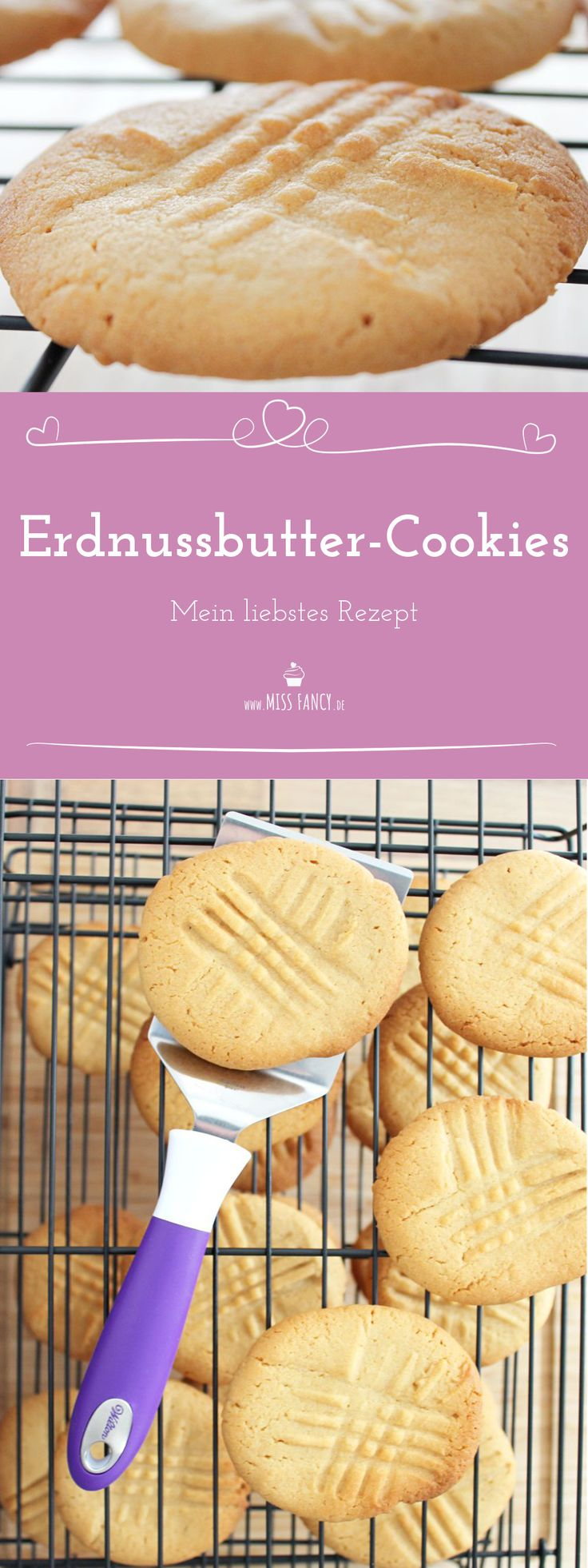 Leckere Peanutbutter-Cookies :-)