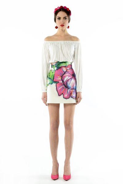 Melissa - bluzka odsłaniająca ramiona