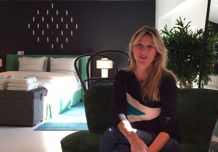 Sarah Lavoine nous présente sa nouvelle boutique, un immense concept store déco place des Victoires à Paris...