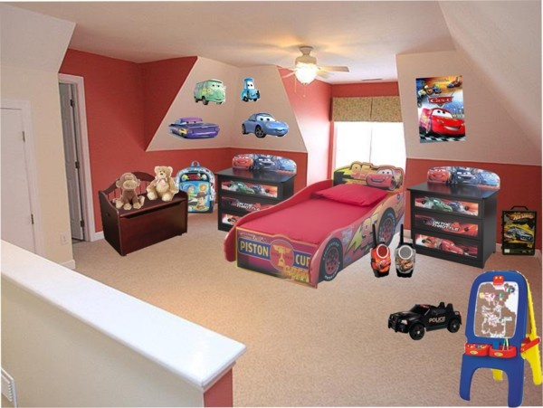 """""""Disney CARS Bedroom"""" by lizzyslegs ❤ liked on Polyvore"""