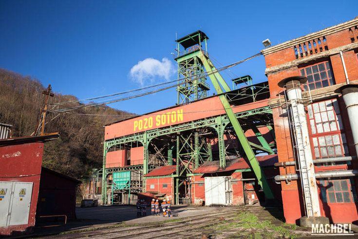 Experiencia de visitar Pozo Sotón, una mina de carbón real en Asturias en la que puedes picar carbón y conocer todo este mundo
