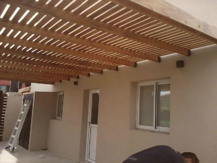 17 best images about fachada exterior on pinterest for Cobertizos de madera baratos