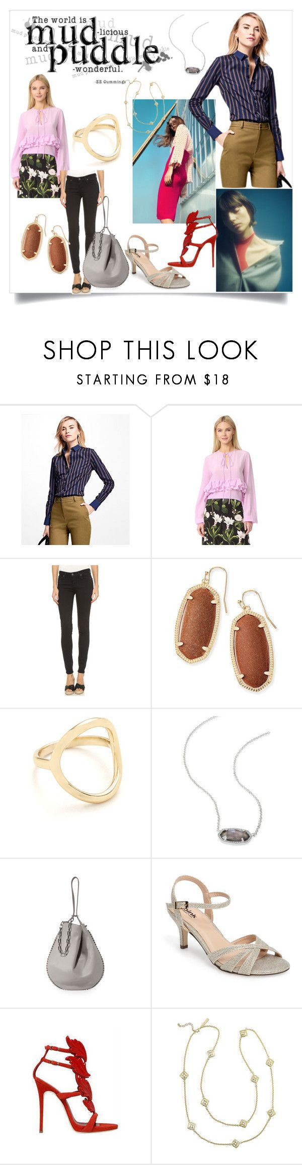 """""""Express your Style"""" by denisee-denisee ❤ liked on Polyvore featuring Rettore, Brooks Brothers, Rochas, Paige Denim, Kendra Scott, Madewell, Alexander Wang, Pink Paradox London and Giuseppe Zanotti"""