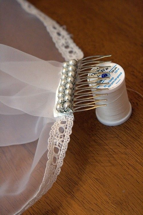 How to make your own mantilla veil | Offbeat Bride