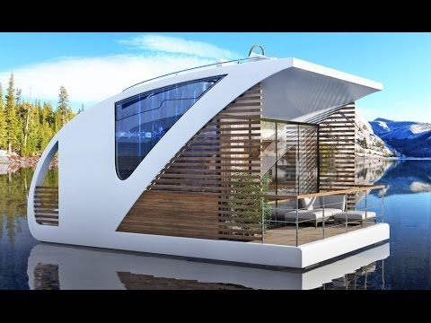 Amazing floating hotel allows guests to sail away in their own private y...